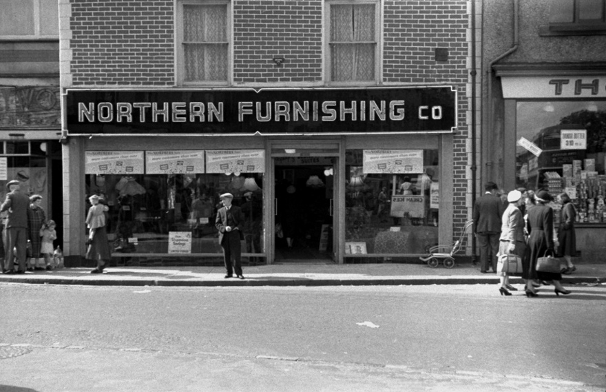 My grandfather managed a furniture shop in Bishop Auckland